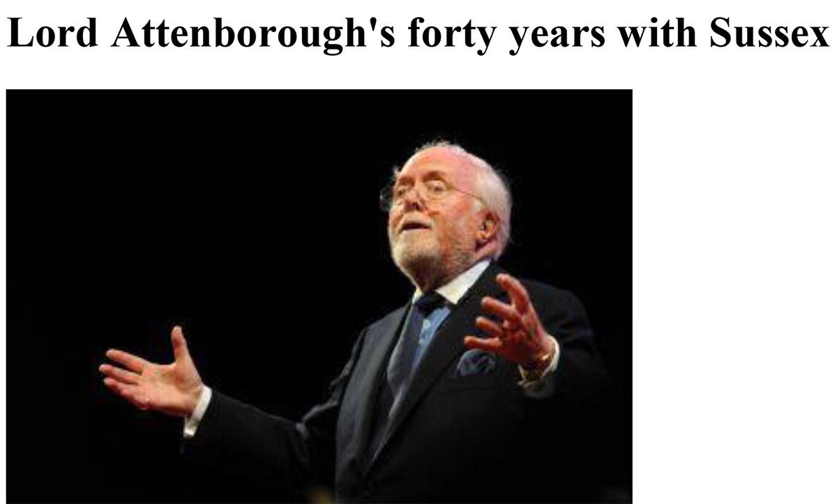 Lord Attenborough
